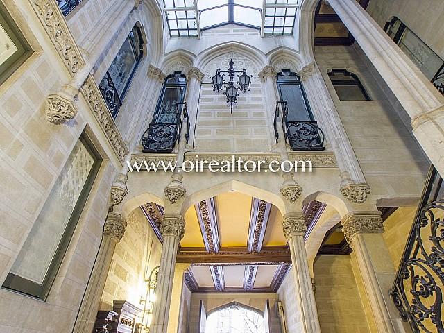 Элегантная квартира в стиле модерн на продажу в районе Eixample Dreta Барселоны