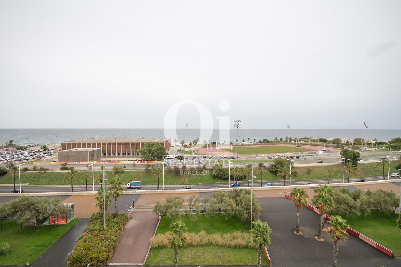 Aussicht der Luxus-Appartement zum Kauf in Diagonal Mar in Barcelona