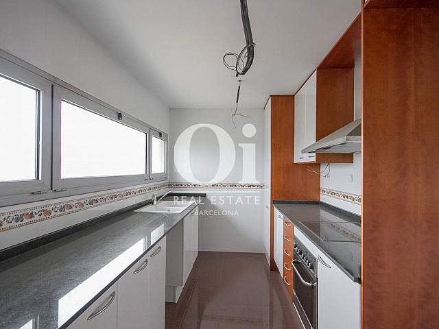 Kitchen in this luxury seaside flat
