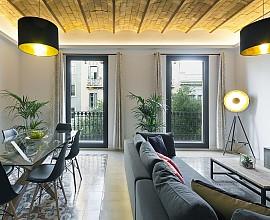 Excelente piso en venta con reforma única en Eixample Dreta