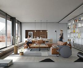 Espectacular àtic d'alt standing amb terrassa de 59 m2 exterior amb vistes a Eixample Dreta