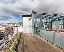 Impresionante ático en venta con 184m2 de terraza en Barcelona, Sant Gervasi-Galvany