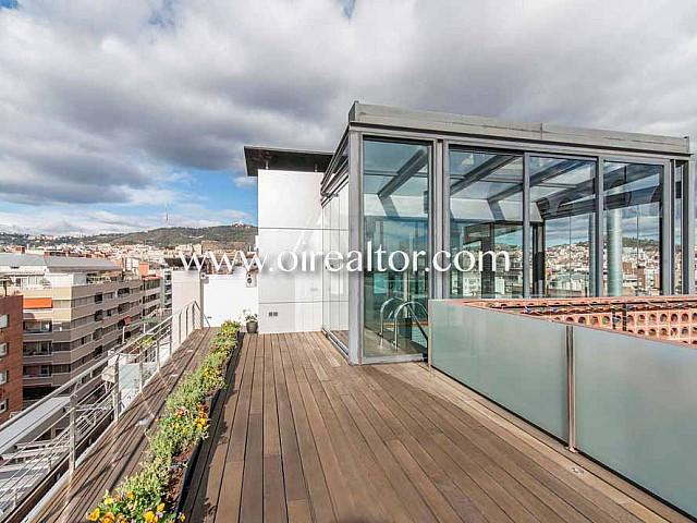 Impressionant àtic en venda amb 184 m2 de terrassa a Barcelona, Sant Gervasi-Galvany