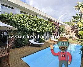Maravillosa casa en venta con espectaculares vistas al mar Urb. Sant Berger en Teià, Maresme