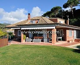 Espectaculares vistas y entorno, casa unifamiliar en Sant Vicenç de Montalt