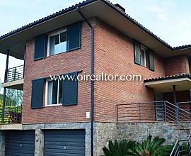 Preciosa casa a cuatro vientos en Sant Andreu de Llavaneres con vistas al mar
