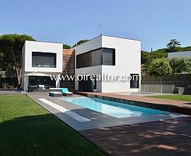 Espectacular casa moderna en Sant Andreu de Llavaneres