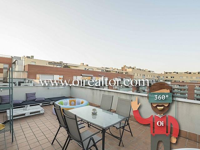 Piso en venta con vistas panorámicas y solarium de 50m2 en Sant Andreu