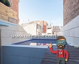 Fabelhaftes Duplex-Penthaus zum Verkauf mit Schwimmbad in Gracia, Barcelona