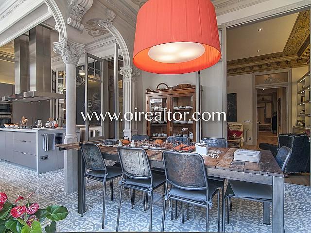 Продается роскошная квартира в стиле модерн в Эшампле Дрета