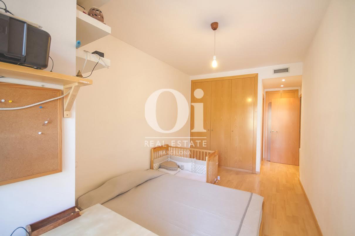 Schlafbereich in Luxus-Appartement zum Kauf in der Carrer Pallars in Barcelona