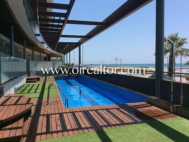 Frontline apartment in Cubelles, Costa Dorada