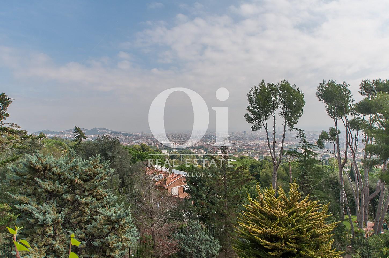 Vistas desde casa en venta en Pedralbes, Barcelona