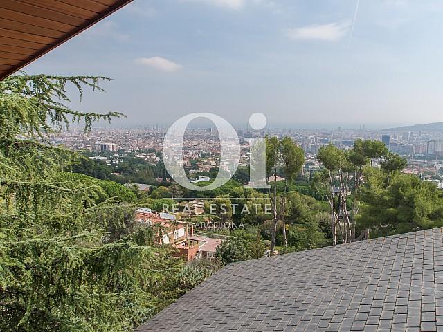 Vue panoramique depuis une magnifique maison de luxe en vente à Pedralbes