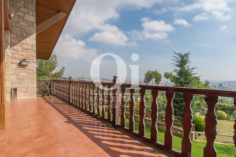 Terrasse der Luxus-Immobilie zum Kauf in Pedralbes in Barcelona