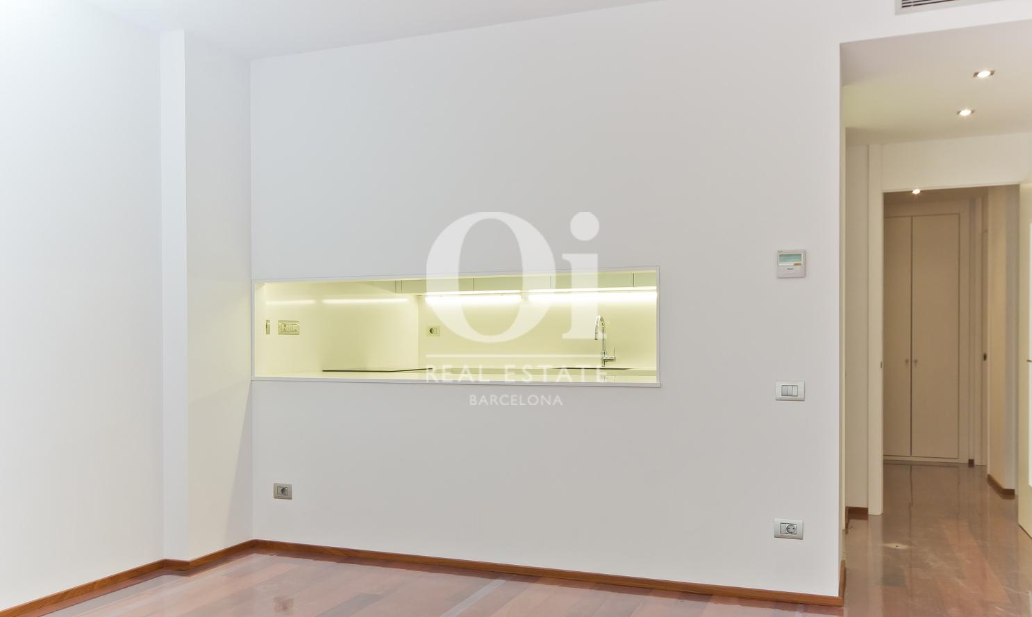 Salon  dans un appartement en vente dans l'Eixample de Barcelone