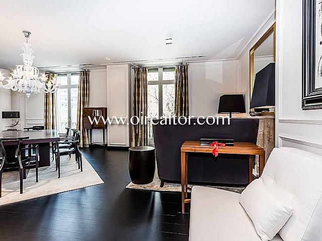 Impresionante apartamento en venta con reforma de lujo en Paseo de Gracia