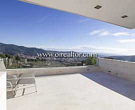 Espectacular casa de diseño en venta en Argentona, Maresme