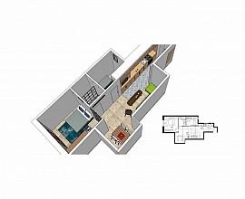 Apartamento reformado en venta en el Raval, Barcelona, ideal inversores