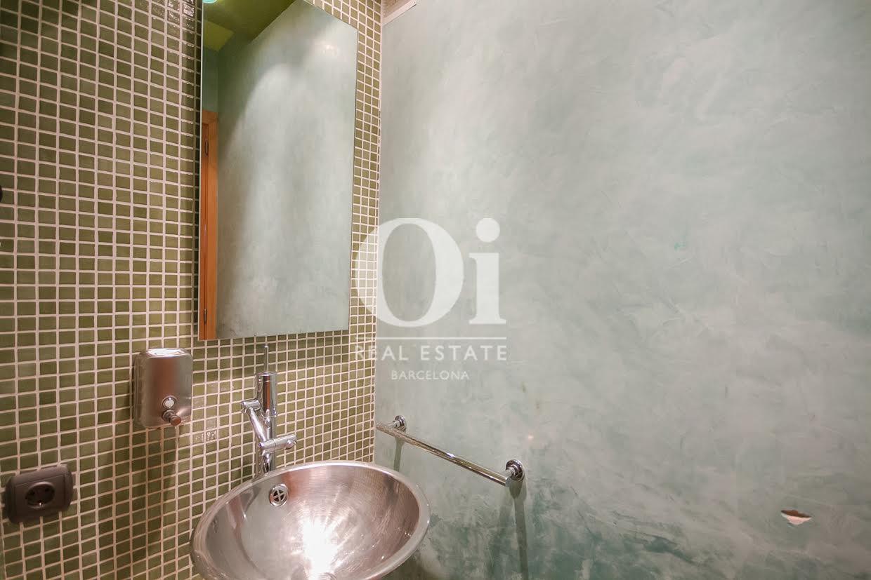 Badezimmer des Luxus-Reihenhaus zum Kauf in Sant Vicençs de Montalt
