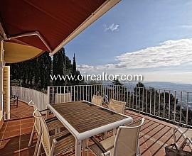 Belle maison à quatre vents avec vue imprenable à Vallvidrera