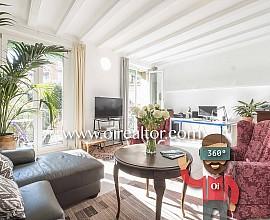 Charmant et ensoleillée appartement à vendre dans le centre de Barcelone
