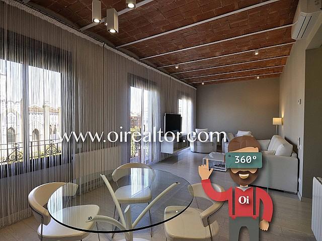 Design Apartment zum Verkauf, sehr hell, im klassischen Gebäude, in Fort Pienc, Barcelona
