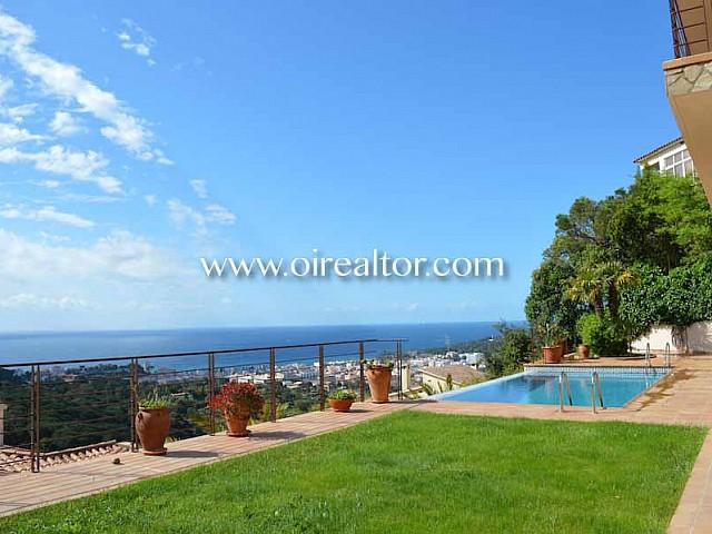 Excepcional casa en venda amb vistes al mar a Lloret, Costa Brava