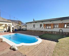 Bonica casa rústica amb impressionants vistes al mar a Sant Cebrià de Vallalta