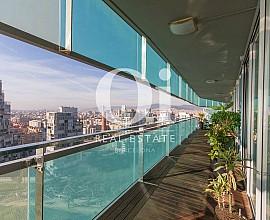 Восхитительная квартира на продажу перед Средиземноморьем в эксклюзивном районе Diagonal Mar