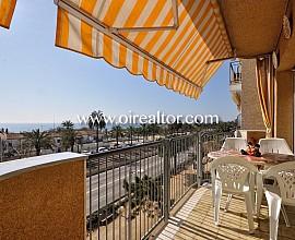 Amplio piso en primera línea de mar en Mataró