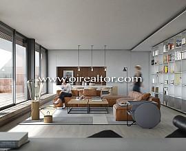 Exclusif penthouse exclusif à vendre dans le cœur de l'Eixample, Barcelone
