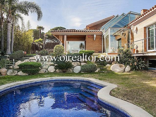 Продается шикарный отдельный дом в престижном районе Калелья, Коста Маресме
