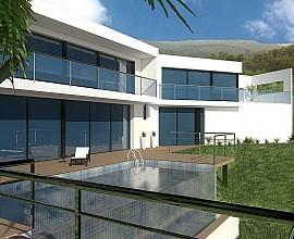 Terrain avec projet de maison individuelle design dans le lotissement Mas Nou, à Platja d'Aro