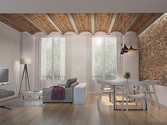 Apartament amb reforma completa de disseny a l'Eixample, Sagrada Família