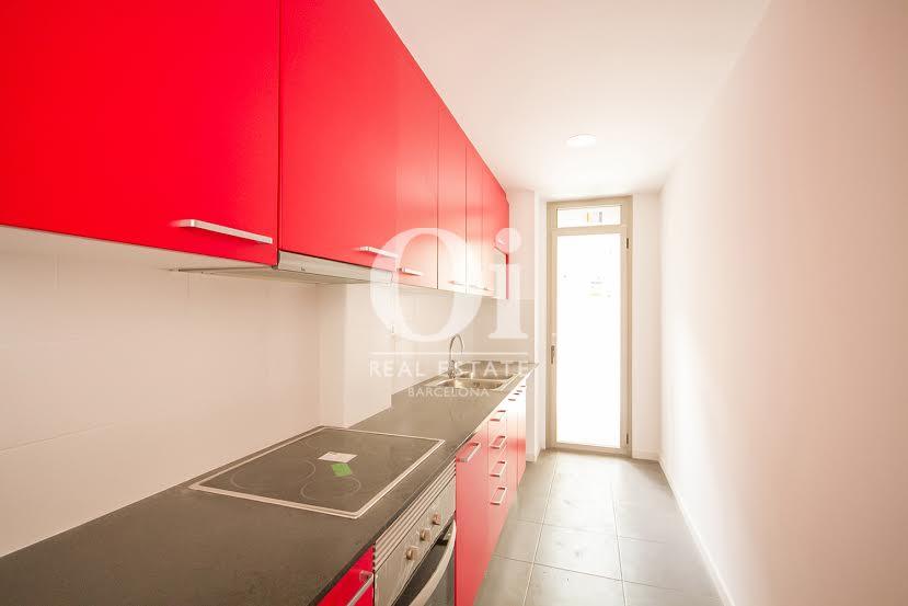 Vista de cocina en piso en venta en Fabra i Puig, Barcelona