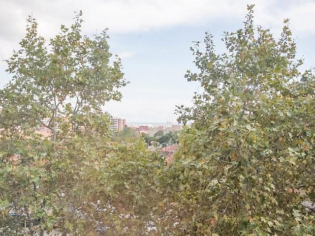 vistas despejadas en piso en venta en Barcelona