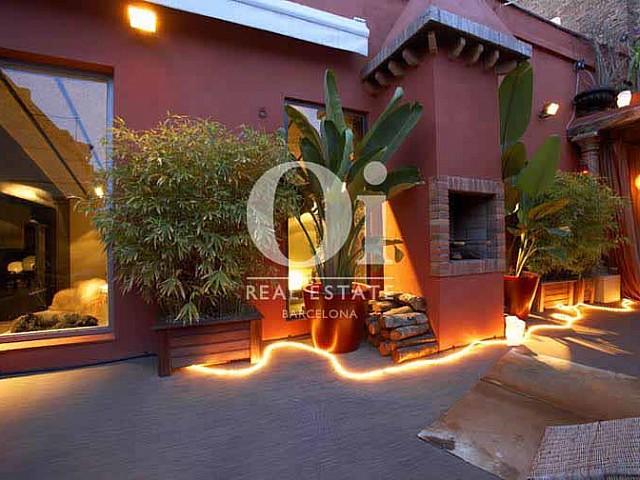 Einzelnes und exotisches Penthouse zu verkaufen, in Raval
