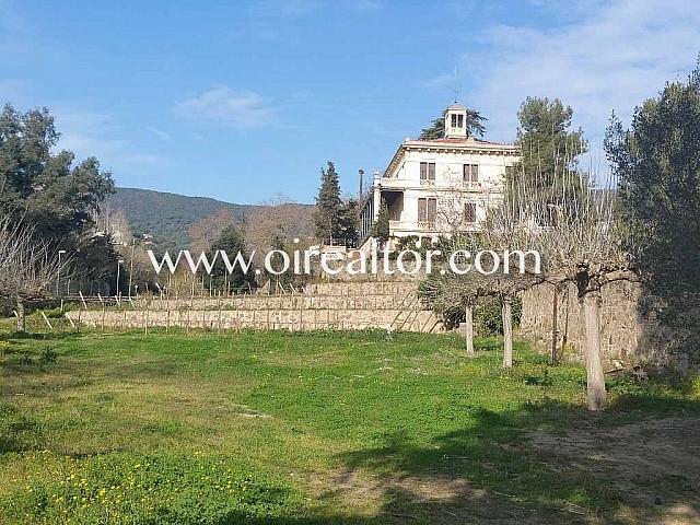 Propriété à rénover avec suggestion pour hôtel à Alella, Maresme.