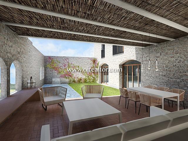 Продается двухэтажный дом в Белькайре, Жирона