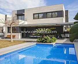 Casa de diseño en venta, a cuatro vientos en LLavaneres, Maresme