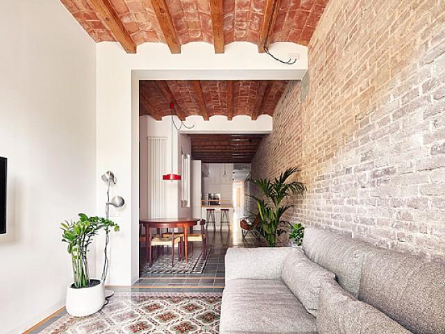 Apartament de disseny en venda a una finca règia a l'Eixample Esquerra