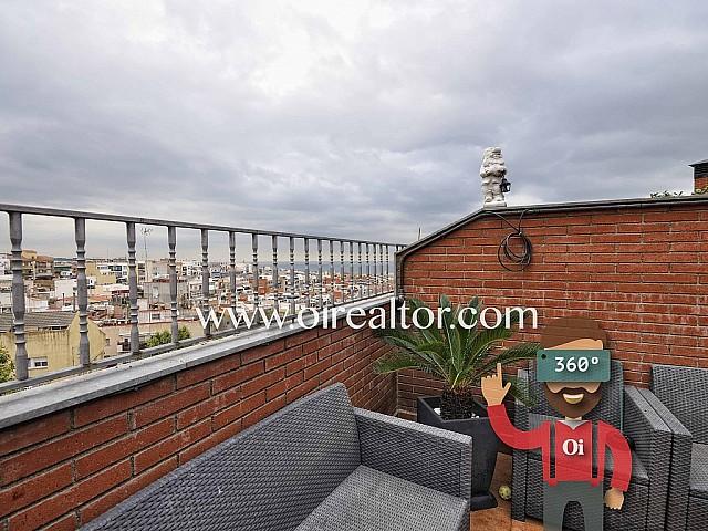 Duplex Penthaus zum Verkauf mit Parkplatz und schöner Terrasse in Mataró