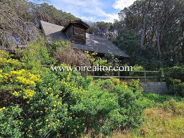 Especial casa de madera en Arenys de Munt.