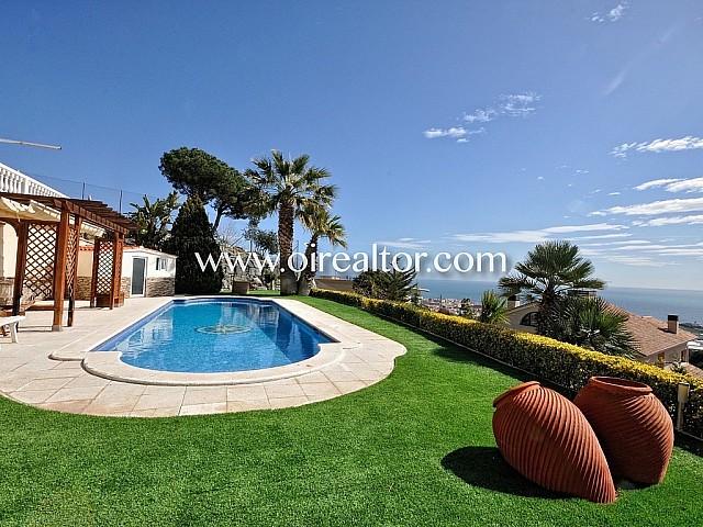 Meravellosa casa amb vistes al mar a Premià de Dalt