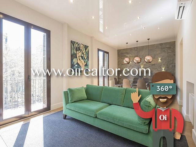 Продается дизайнерская квартира в Эшампле