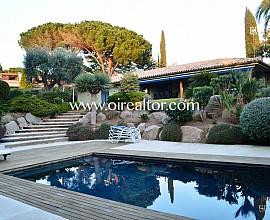 Magnifica casa de Sant Vicenç de Montalt en la prestigiosa urbanización del Supermaresme