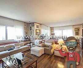 Elegante piso en venta en la exclusiva Avenida Pedralbes de Barcelona