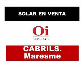 Solar en Cabrils con esplendidas vistas a Mar y Montaña