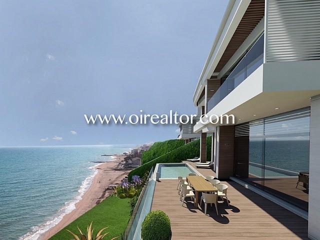 Exclusiva villa en primera línea de mar en Arenys de Mar